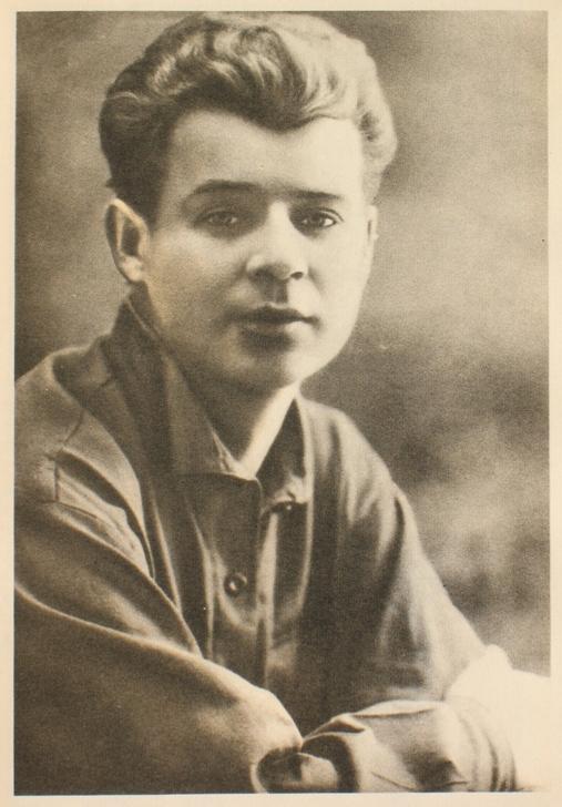 С.Есенин 1924 год (фото из Википедии)