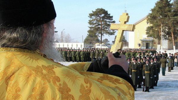 Религия уничтожает воина российских Вооруженных Сил
