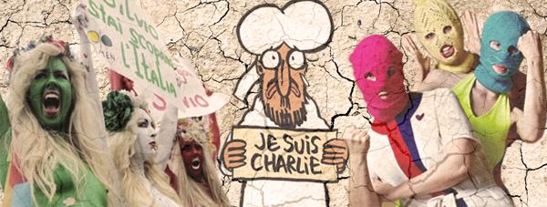 О Pussy riot, Femen, Charlie Ebdo и здравом смысле