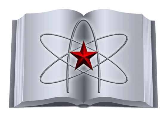 Логотип Атеистического лектория