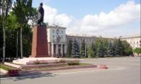 Алчевск. Площадь Ленина