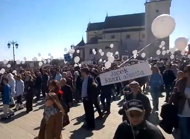 В Польше прошел Марш атеистов