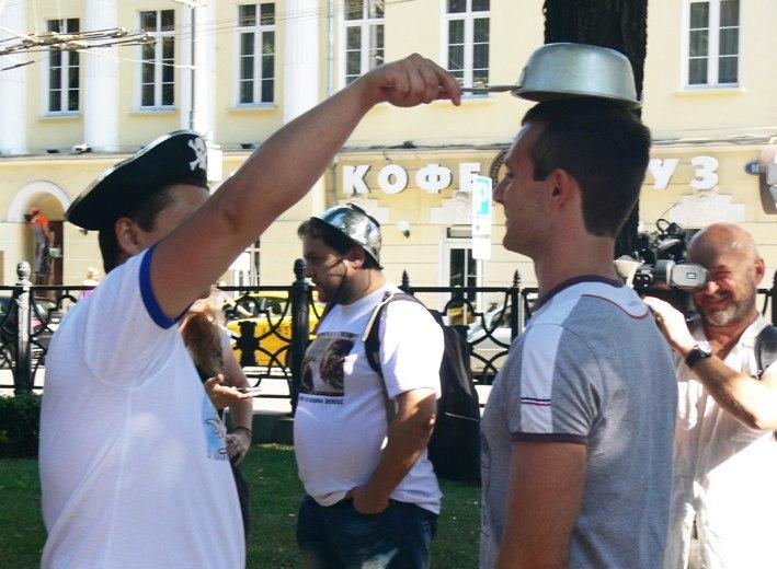 Задержание пастафарианцев в Москве