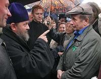 Жители выступили против строительства храма РПЦ МП в Центральном районе Петербурга
