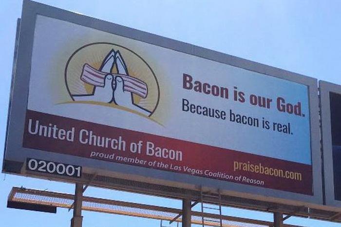 Реклама Объединенной церкви Бекона