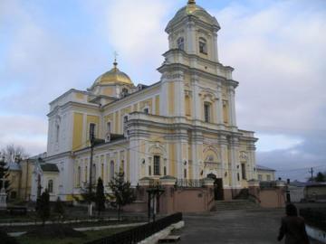 Кафедральный собор святой троицы в Луцке